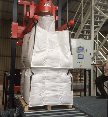 remplissage-bigbag-un-sur-l-autre-gerbage-duplex-empilé-Mecabag
