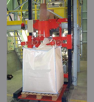 Bigbagueuse-remplissage-bigbag-palette-pesage-granulés-plastiques-plasturgie-Mecabag