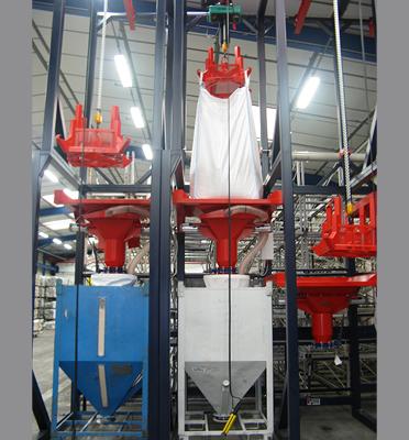Vidange-bigbag-conteneurs-rigides-soutirage-plasturgie-granulés-plastiques-Mecabag